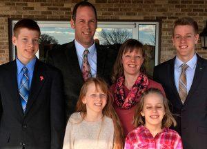 The Rodney Myers Family